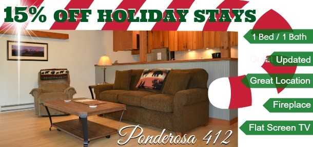 15% off Holiday Stays