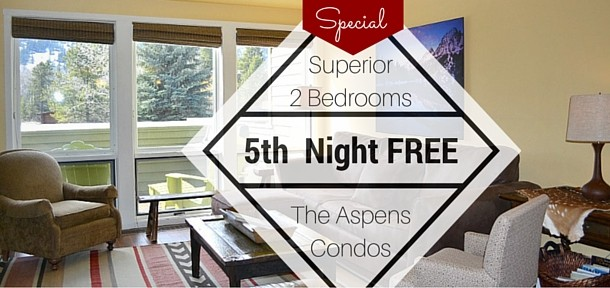 Every 5th Night Free in The Aspens